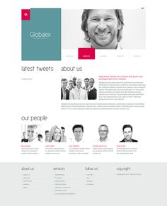 Global Business Joomla Template by Html5 Web Templates