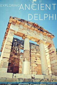Exploring Ancient Delphi, Greece | Alex in Wanderland