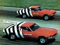 - Sandy Elliot Team by O. 68 Ford Mustang, Mustang Fastback, Mustang Cars, Car Ford, Ford Gt, Ford Mustangs, Vintage Mustang, Classic Mustang, Drag Racing