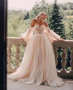 Boho Wedding Dress, Dream Wedding Dresses, Bridal Dresses, Beaded Dresses, Fluffy Wedding Dress, Pink Wedding Gowns, Wedding Bride, Fashion Wedding Dress, Chic Wedding