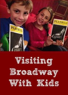 Our kids love musicals so we recently starting taking them to Broadway shows while visiting NYC. Check out our tips and suggestions on how to make your trip to Broadway with kids a success! Nyc With Kids, Travel With Kids, Family Travel, New York Travel, Travel Usa, Travel Tips, Travel Destinations, Travel Videos, Travel Hacks
