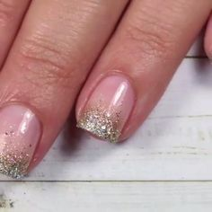 Chic Nails, Stylish Nails, Trendy Nails, Square Acrylic Nails, Best Acrylic Nails, Glitter Gel Nails, Pink Nails, Nail Art Designs Videos, Nail Designs