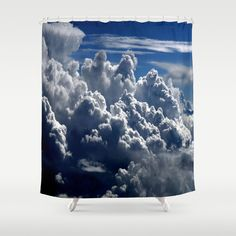 clouds+Shower+Curtain+by+Lo+Coco+Agostino+-+$68.00