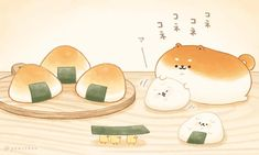 Cute Food Drawings, Cute Cartoon Drawings, Cute Kawaii Drawings, Cute Animal Drawings, Arte Do Kawaii, Kawaii Art, Kawaii Wallpaper, Wallpaper Iphone Cute, Chibi Food