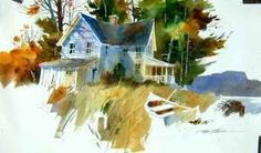 Tony Couch, Untitled, watercolor © 2014