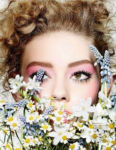 Vogue Japan March 2015 | Ondria Hardin | Richard Burbridge