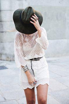 want.  lace dress