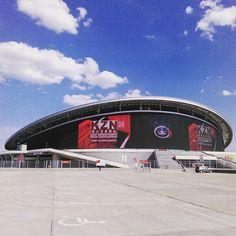 Kazan Arena #kazan #kazanarena #travel #казань #татарстан #путешествиепороссии #путешествие #казаньарена Soccer, Europe, Hs Football, Futbol, European Football, Football
