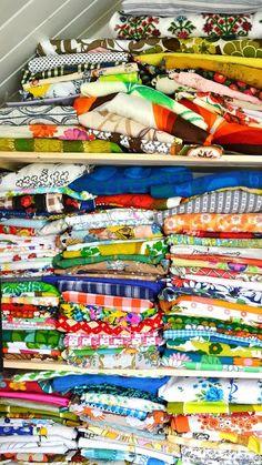 ingthings: vintage fabrics ♥