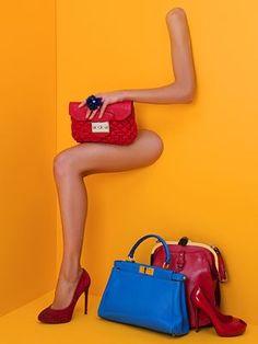 Nudge it Network: Creative Visual Merchandising Displays Fashion Still Life, Handbag Display, Shoe Display, Display Ideas, Visual Merchandising Displays, Visual Display, Retail Displays, Booth Displays, Editorial Photography