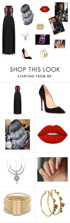 """""""Thor Ragnarok"""" by sass-queen-159 ❤ liked on Polyvore featuring Christian Louboutin, Lime Crime, Child Of Wild and Disney"""