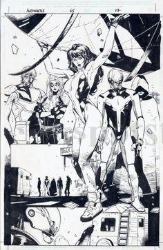 Avengers #67, Olivier Coipel
