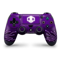 Playstation 4 Controller Skin Sombra Hacks - - Ideas of - Playstation 4 Controller Skin Sombra Hacks Pc Gaming Setup, Gaming Tips, Control Ps4, Mundo Dos Games, Overwatch Fan Art, Overwatch Xbox, Ps4 Controller, Epic Games, Video Game Console