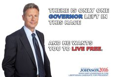 Governor Gary Johnson visit www.garyjohnson2016.com