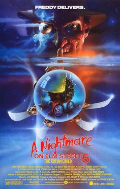A Nightmare on Elm Street 5: The Dream Child (1989) poster art