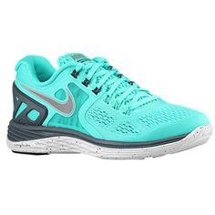 33fe38623be31 Nike LunarEclipse + 4 Women s Hyper Turquoise Dark Magnet Grey White  Stability Running Shoes