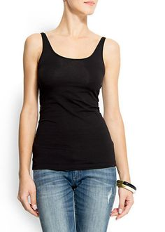 basic black tank top i got from red herring a great buy with disc...
