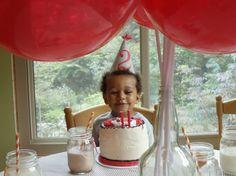 Project Nursery - Vintage Sesame Street Birthday Party Cake Time