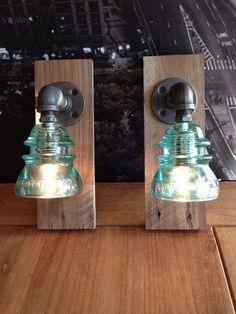 Repurposed insulator lights