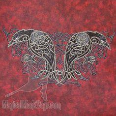 Celtic Majesty Ravens