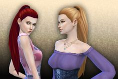 Indecision hair version 2 by Kiara Zurk at My Stuff via Sims 4 Updates