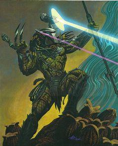Predator by David Michael Beck Wolf Predator, Predator Alien, Apex Predator, Predator Cosplay, Aliens Colonial Marines, Giger Art, Alien Art, Batman Vs Superman, Dark Horse