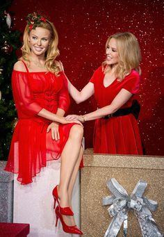 Kylie Minogue Visits Madame Tussauds