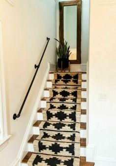 1 Pipe Handrail for Stairs Industrial Safety Handrail Hand Railing Pipe Railing Industrial Farmhouse Decor Easy Home Remodel Pipe Railing, Stair Handrail, Banisters, Hand Railing, Railings For Stairs, Black Railing, Handrails For Stairs Interior, Stair Case Railing Ideas, Banister Rails
