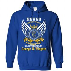 A WOMAN who graduated from George W. Wingate High Schoo - #fathers gift #gift exchange. ACT QUICKLY => https://www.sunfrog.com/States/A-WOMAN-who-graduated-from-George-W-Wingate-High-School-1127-RoyalBlue-Hoodie.html?68278