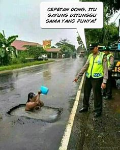 13 Silly Scenes That Can Only Happen In Indonesia