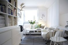 Awesome Scandinavian Living Room Decor Ideas with Beautiful Scandinavian Style Interiors Scandinavian Style, Modern Scandinavian Interior, Swedish Decor, Swedish Design, Scandi Style, Nordic Style, Scandi Chic, Scandinavian Apartment, Swedish Style