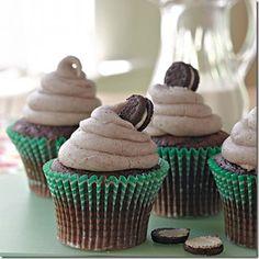 Cookies and Cream Cupcakes - #FavoriteRecipes