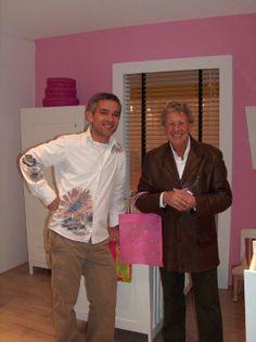 The founder of Planet Little (Jan Bas Daniëls) together with the famous Dutch designer Mr. Jan des Bouvrie. http://www.jandesbouvrie.nl/