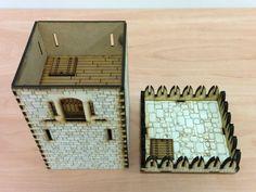 23 28mm modular castle kit review Warhammer RPG