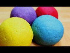 How to Make Playdough WITHOUT Cream of Tartar and NO COOK