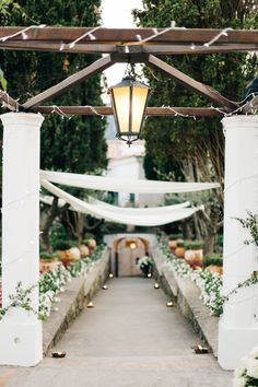 Tuscan-inspired ceremony decor: http://www.stylemepretty.com/destination-weddings/italy-weddings/2016/06/16/the-views-arent-the-only-breathtaking-part-of-this-amalfi-coast-wedding/ | Photography: M And J Photography - http://www.mandjphotos.com/