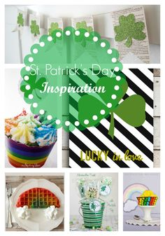 20 St. Patrick's Day Inspirations {Link Party Features} I Heart Nap Time | I Heart Nap Time - Easy recipes, DIY crafts, Homemaking