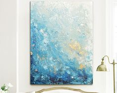 GICLEE PRINT of Abstract Dancer Painting Modern Large Art Wall