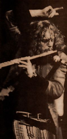 """Who would be a poor man, a beggarman, a thief   if he had a rich man in his hand."" Jethro Tull - Ian Anderson photo"
