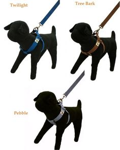 Wagging Green Eco-Friendly Bamboo Step In Harness - Small - Brown, Blue, or Gray #WaggingGreen