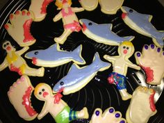 Shark Week!!!!! These will be made for work!!