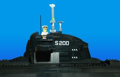https://flic.kr/p/eVJUmp | S200 | S200 Submarine  A submarine for coastal operations.