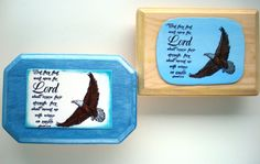 Verse Wall Plaque.  But they that wait upon the Lord by WordofGod, $17.50
