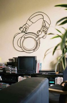 My brother need to paint this for my Dad's music room!