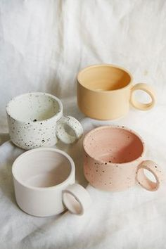"""The word """"ceramics"""" comes form the Greek word """"keramikos"""", which means pottery. The line of the Greek word means potter's clay and ceramic art directly … Pottery Teapots, Pottery Bowls, Ceramic Pottery, Slab Pottery, Thrown Pottery, Pottery Wheel, Ceramics Pottery Mugs, Painted Ceramics, Porcelain Ceramics"""