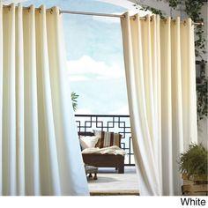 Gazebo Grommet Top 96 Inch Indoor Outdoor Curtain Panel