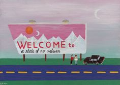 Welcome to a Place of no Return  * Original by Angela Dalinger