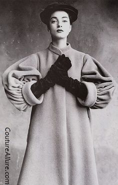 Vintage Haute Couture on Pinterest | Balenciaga, Richard Avedon ...
