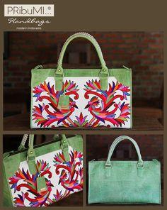 BORNEO Handbag in Sulam Tumpar Kalimantan by PRibuMI...