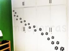 puertas armario huellas gato copia